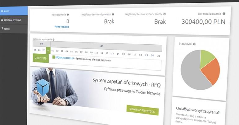 RFQ – System zapytań oferowych